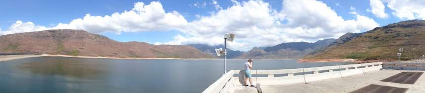 Berg River Dam- Site Visit-The Dam Itself